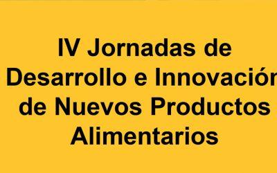 """Dra. Haros imparte Conferencia """"Granos ancestrales para los alimentos del futuro"""" en la IV Jornadas de Desarrollo e Innovación de Nuevos Productos Alimentarios"""