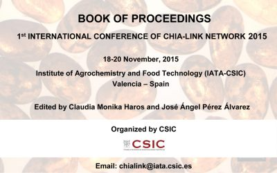 BOOK OF PROCEEDINGS 1st INTERNATIONAL CONFERENCE OF CHIA-LINK NETWORK 2015